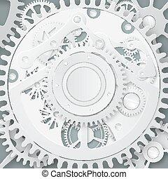 Abstract  clockwork mechanism