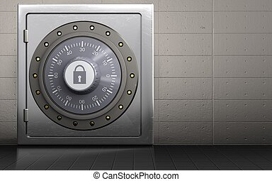 3d metal safe combination lock