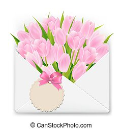 Mothers Day Retro Postcard With Gradient Mesh, Vector...