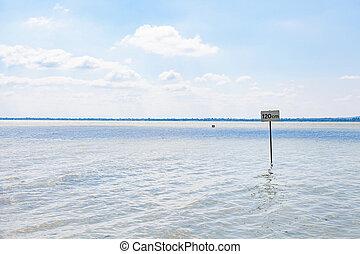 Lake Balaton waterfront - Scenic picture of Lake Balaton...