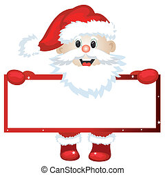 Santa with frame