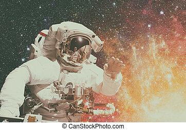 NASA space exploration astronaut. Elements of this image...