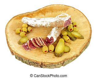 Spanish Fuet Catalan Salami - Traditional Spanish Fuet...