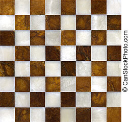 Marble chessboard - Beautiful used marble chessboard;...