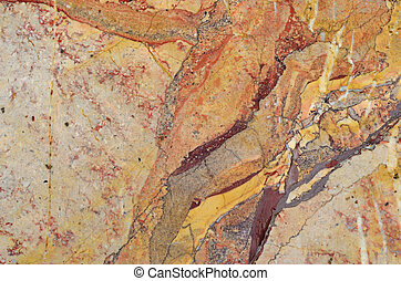 Surface of the marble stone treated - Pattern of the marble...