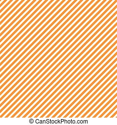 Seamless pattern with orange and white diagonal stripes, seamless texture background. Halloween, thanksgiving holidays decoration