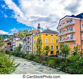 Brunico ( Bruneck ) in Trentino Alto Adige - Italy Rienza...