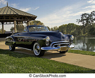 Sporty 1950 Convertible