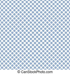 Seamless soft blue polka dots pattern texture background