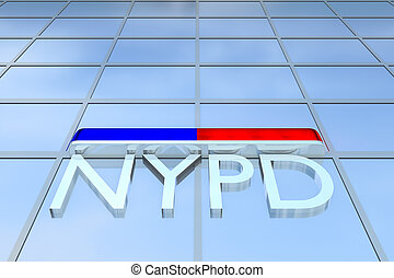 NYPD - New York Police Department concept