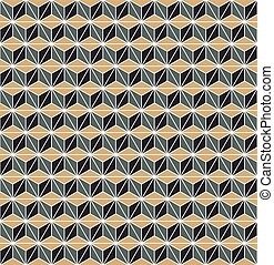 Seamless vintage Art Deco Vector pattern