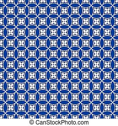 Seamless traditional Japanese pattern