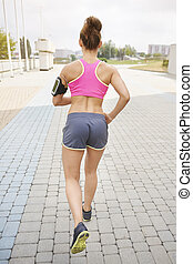 Finding the aim is crucial in jogging
