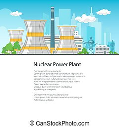 Poster Nuclear Power Plant