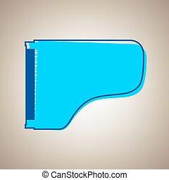 藍色, defected, 音樂會, 徵候。, 天空, 背景。, 原色嗶嘰, vector., 宏大的鋼琴, 外形, 圖象