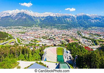 Bergisel Sprungschanze Stadion, Innsbruck - The Bergisel...