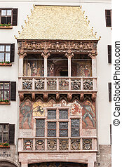 Goldenes Dachl Golden Roof - The Goldenes Dachl or Golden...