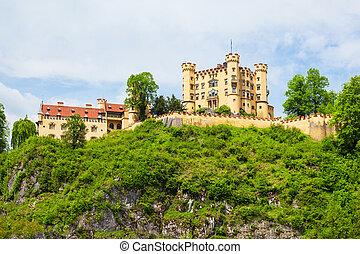 Schloss Hohenschwangau Castle, Germany - Schloss...