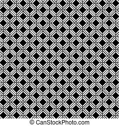 Seamless vector interwoven trellis pattern