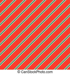 Seamless Christmas Stripe Pattern. Ideal for Christmas gift wrapping paper.
