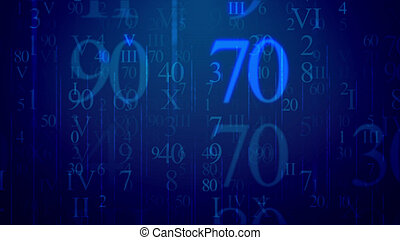 Letters in Latin and Arabic numbers in cyberspace -...