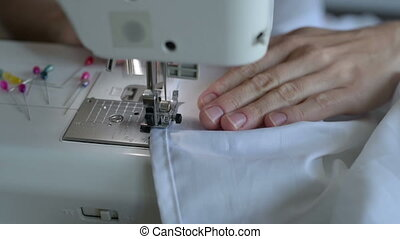 Close up of sewing
