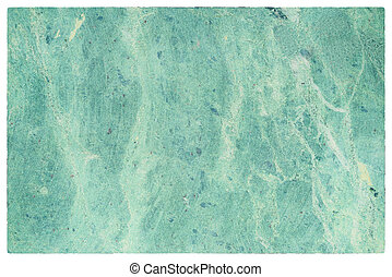 Green blue marbled stone texture