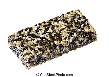 Sesame Candies Isolated - Isolated image of sesame candies.