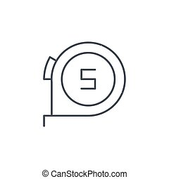 roulette thin line icon. Linear vector symbol - roulette...