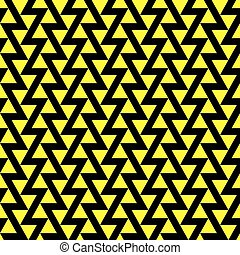 Seamless offset vector triangle pattern background