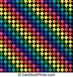 Seamless abstract colourful geometric wrapping paper...