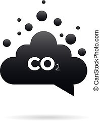 co2 emissions icon