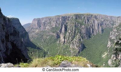 Vikos gorge Zagoria Epirus Greece