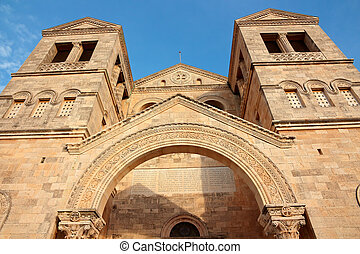 Church of the Transfiguration - Israel - View of the...