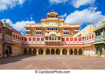 City Palace in Jaipur - Chandra Mahal Palace (City Palace)...