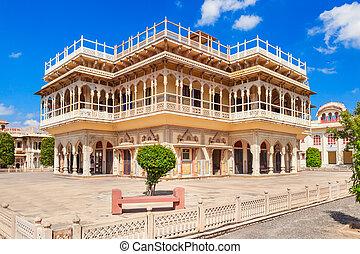 City Palace in Jaipur - Mubarak Mahal Palace (City Palace)...