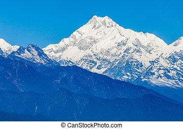 Kangchenjunga view, Gangtok - Kangchenjunga is the third...