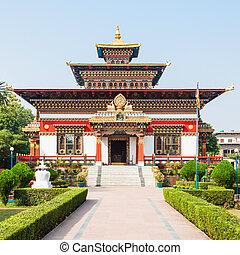 Bhutanese Temple, Bodhgaya - Royal Bhutan Monastery...