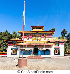 The Enchey Monastery is a Vajrayana Buddhism monastery in...