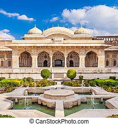 Amer Fort near Jaipur - Amer Fort outside Jaipur in...