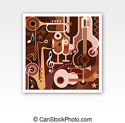 Abstract Musical Composition - Abstract Musical...