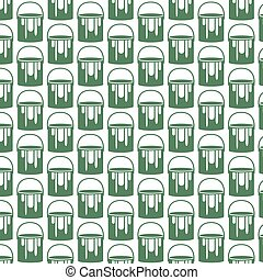 Pattern background paint can icon