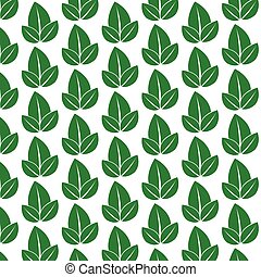 pattern background Leaf nature icon
