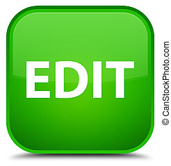 Edit special green square button - Edit isolated on special...