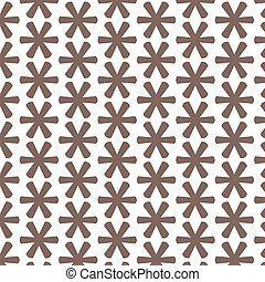 Pattern background Asterisk Footnote sign icon