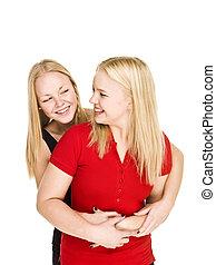 Bonding Girls
