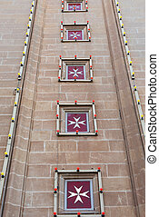 Maltese cross is the symbol associated with the Order of St....