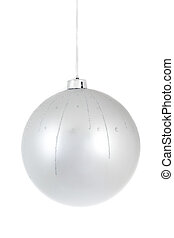 isolated christmass glass ball - christmas series: isolated...