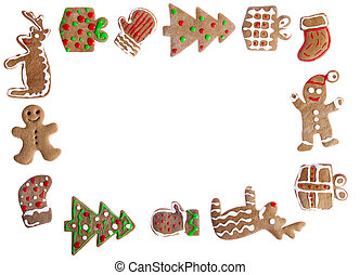 Gingerbread cookies - Homemade Gingerbread cookies with...