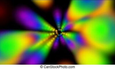 abstract rotation color ray light